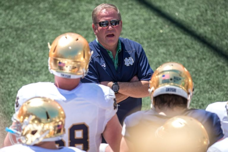 Brian-kelly-ncaa-football-notre-dame-spring-game-768x511