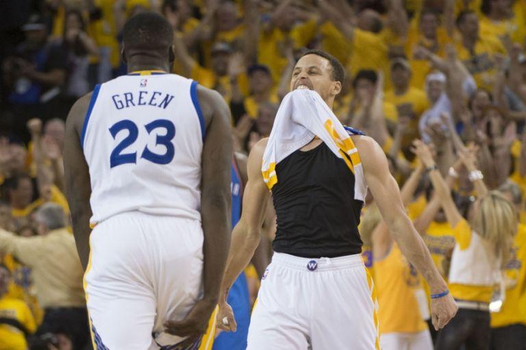 Stephen-curry-draymond-green-nba-playoffs-oklahoma-city-thunder-golden-state-warriors-768x511