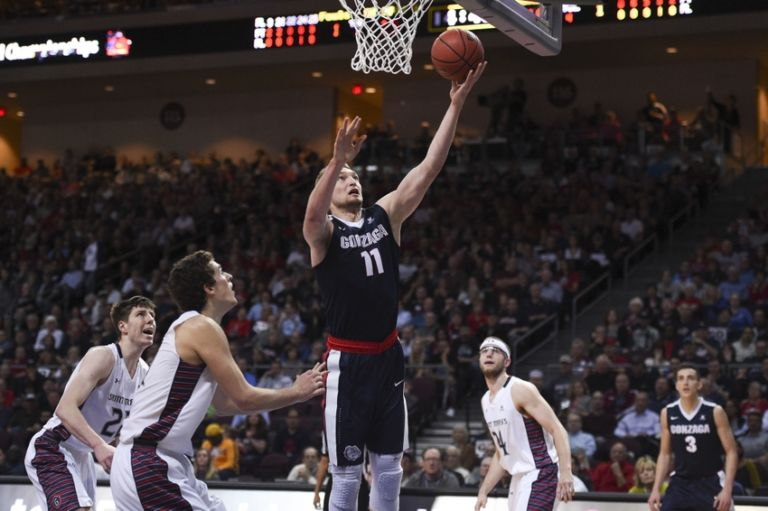Domantas-sabonis-ncaa-basketball-west-coast-conference-tournament-gonzaga-vs-saint-mary-768x511